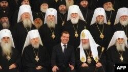 Rusiya Patriarxı prezident Medvedyevlə birgə