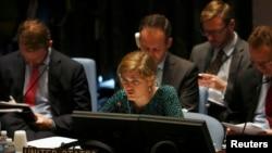 سامانتا پاور، نماینده دائم آمریکا در سازمان ملل.