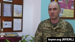 Підполковник ЗСУ Володимир Щурик