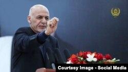 Президенти Афганістану Ашраф Гані