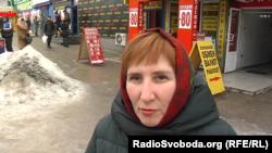 Жінка каже, що на місцевих каналах хотіла б бачити сюжети про життя міста
