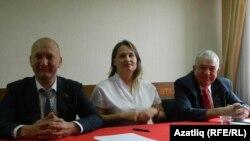 Хафиз Миргалимов (у), Татьяна Мухина, Николай Атласов