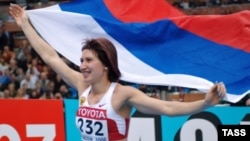 Tatyana Lebedeva retired from competition in 2013 and became a Russian lawmaker a year later.