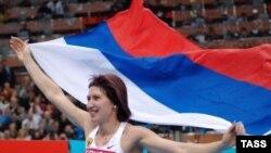 Татьяна Лебедева - чемпионка мира в прыжках в длину