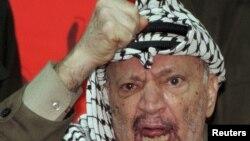 Лидер палестинцев Ясир Арафат. Фото из архива