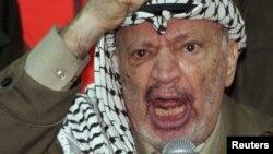 Лидер Палестины Ясир Арафат в 1998 году.