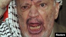 Ясир Арафат, фото 1998 года.