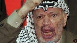 Former Palestinian President Yasser Arafat died in 2004.