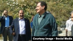 تصویری از علیرضا رجایی پس از خروج از زندان اوین