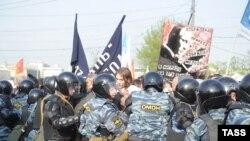 Події в Москві напередодні інавгурації Путіна в 2012 році