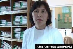 Психиатр Эльвира Жимбаева. Алматинская область, ноябрь 2012 года.