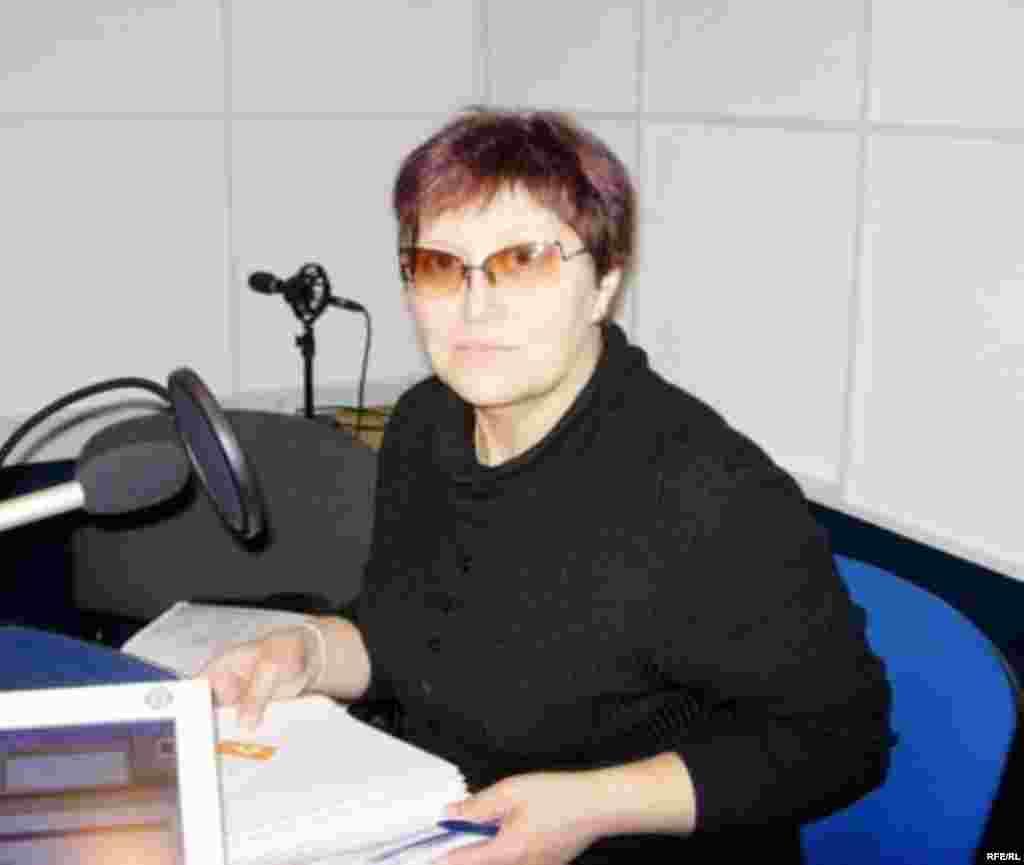 Пострадавшая от чернобыльской катастрофы Людмила Побожьева