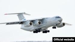 Российский военно-транспортный самолет Ил-76. Иллюстративное фото.