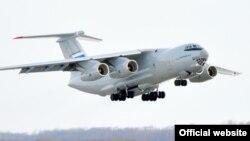 Ресейлік әскери жүк тасымалдаушы Ил-76 ұшағы. (Көрнекі сурет.)