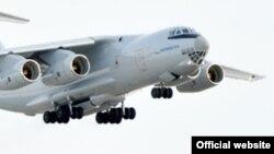 Военно-транспортный самолет Ил-76. Иллюстративное фото.