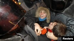 Задержание участников оппозиционного митинга в Москве 5 декабря 2011 года