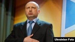 Kryetari i Parlamentit të Ukrainës, Oleksandr Turchynov