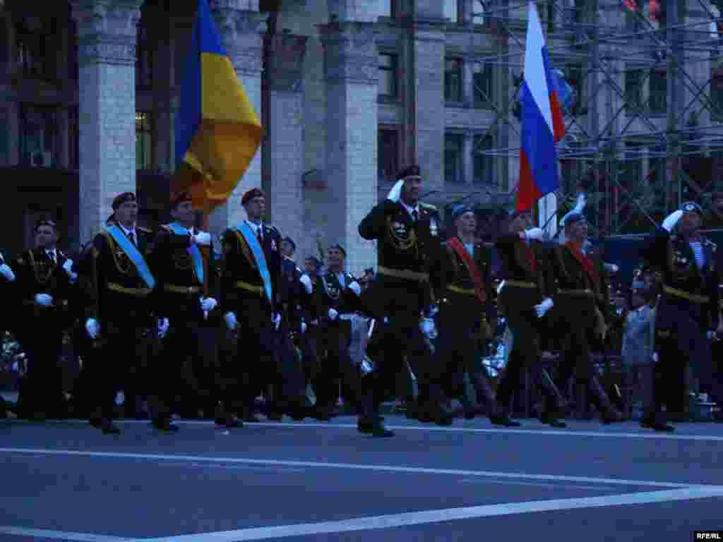 Російську Федерацію на київському параді до Дня Перемоги представлятимуть 75 військовослужбовців 45-го окремого полку спеціального призначення повітряно-десантних військ.