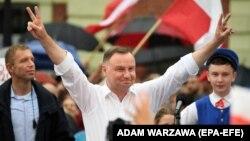 Анджей Дуда, президент Польши.