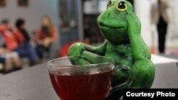 Зялёная жабка - падарунак за вершы ад чытача