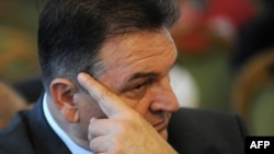 Ушедший в отставку вице-премьер и министр экономики Хорватии Радимир Качич.