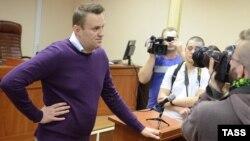 Російський опозиціонер Олексій Навальний на одному із засідань суду Кірова, 5 грудня 2016 року
