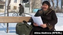 Ғалия Мұсқалиева, көпбалалы ана. Aқтөбе, наурыз 2011 жыл.