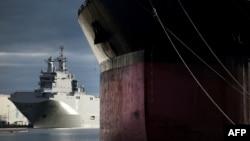 Pamje e luftanijes Mistral