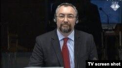 Dušan Pavlović u sudnici 2. veljače 2015.