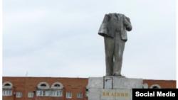 Памятник Ленину в Бузулуке. Архивное фото