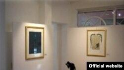 نمای داخلی فسانن گالری، محلی که تابلوها در آن به سرقت رفته است. (عکس از سایت رسمی گالری)