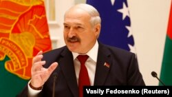 Presidenti bjellorus, Alyaksandr Lukashenka, foto nga arkivi