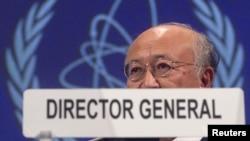 Генералниот директор на МААЕ, Јукиа Амано.