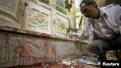 Нападение в коптской церкви в Египте.