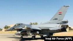 اف-۱۶ نیروی هوایی عراق.۱۹ آوریل ۲۰۱۸