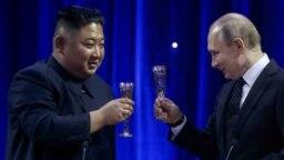 """Putinovom i Kimovom sastanku """"jedan na jedan"""" prethodili su razgovori delegacije dvije zemlje"""