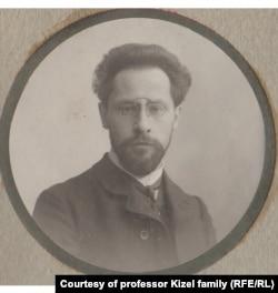Профессор Александр Кизель, 1910 год
