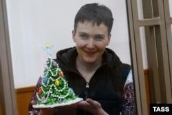 Надежда Савченко на судебном заседании. 23 декабря