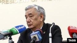 Марказий сайлов комиссияси раиси Мирзо Улуғбек Абдусаломов.