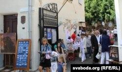«Арт-прастора» на Талстога, 7 стала беларускім цэнтрам Віцебску