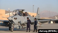 Eight A-29 Super Tucano light attack aircraft donated by the United States will improve the Afghan military's counterinsurgency and close air support capabilities.