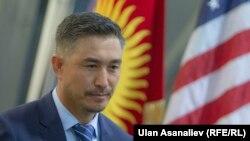 АКШдагы кыргыз диаспорасынын жетекчиси Бакай Оморов.