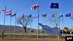 Москву беспокоит, что на грузинской территории разворачивается военная инфраструктура альянса, регулярно проходят военные учения