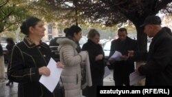 Երևան, Հանրապետության հրապարակ, 30-ը նոյեմբերի, 2017 թ․