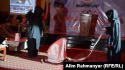 آرشیف، صحنۀ از یک تیاتر در افغانستان
