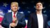 Дональд Трамп і Ўладзімір Зяленскі