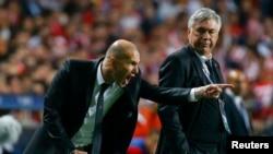 Carlo Ancelotti və Zinedine Zidane