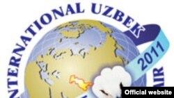 Логотип 7-й Международной узбекской хлопковой и текстильной ярмарки.