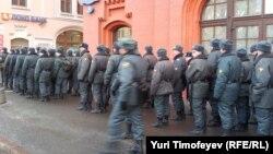 Полицейские подразделения, работавшие на акции 5 марта на Лубянке