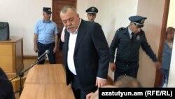 Манвел Григорян в суде, Ереван, 13 мая 2019 г.